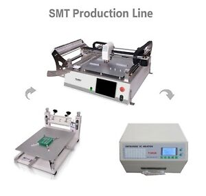 Neoden Smt Pick And Place Machine Neoden3v std 23 Feeders For Prototype Led 0402