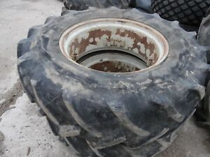 1986 Ford Tw 35 Series 2 Farm Tractor Front Tires wheels 14 9 X 28 radials