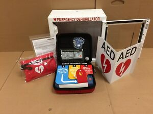 Philips Heartstart Hs1 Aed Defibrillator Business Value Package Free Shipping