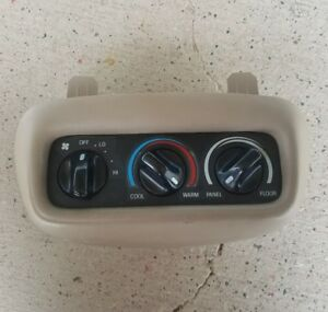 99 00 01 Lincoln Navigator Rear Ac A c Heater Temperature Climate Control Switch
