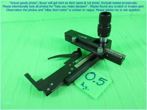 Olympus Microscope Ch Mechanical Stage Slide Holder Part As Photo Sn 2205