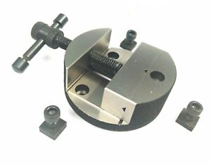 80 Mm Round Vice For Rotary Tables With Fixing Tee Nuts milling Engineering Tool