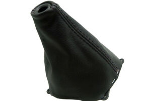Manual Shift Boot Leather Synthetic For Honda Civic Si 06 11 Black
