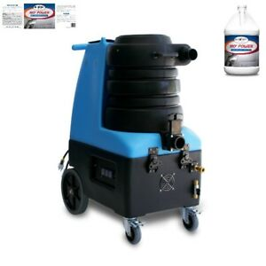 Mytee Bz 104 Breeze Carpet Extractor And Two Cases Of Carpet Extractor Cleaner