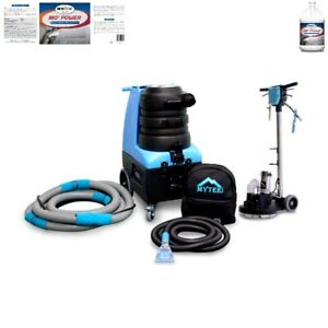 Mytee Bz104p Carpet Cleaner Package And Four Cases Of Carpet Extractor Cleaner
