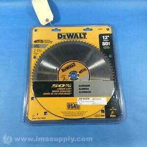 Dewalt Dw7666 12 Carbide Metal Cutting Circular Saw Blade Fnfp
