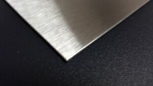 qty 10 Stainless Steel Sheet Metal 304 4 Brushed Finish 22 Gauge 6 X 15 5