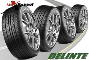 qty Of 4 Delinte D7 215 45zr17 91w Ultra High Performance Tires