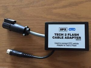 Otc Spx Tool 3625 04 Flash Cable Adapter For Gm Tech 2 Scanner