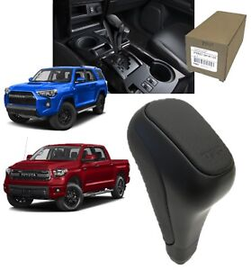 2015 2019 4runner Tundra Shift Knob Trd Pro Black Genuine Toyota Ptr57 34141 02