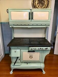 Antique Stove 1880 S Hybrid Gas And Wood Cook Stove