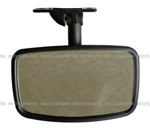 Blind Spot Roof Mirror Black fit International 9200 Various Other Trucks