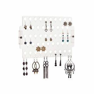 Earring Holder Organizer Wall Mount Jewelry Organizer Hanging Closet Storage