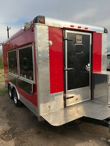 8 5 X 14 Concession Stand Food Truck With Generator And Accessories new