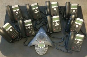 Polycom Soundpoint Ip 335 Telephones With Handset set Of 10