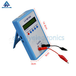 High Precision L c Inductance Inductor Capacitance Multimeter Meter Lc200a Tool