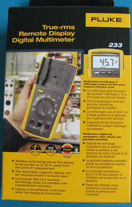 Fluke 233 Remote Display Digital Multimeter new In Box Msrp 335