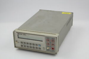 Hewlett Packard Agilent Hp 3478a Digital Multimeter 3
