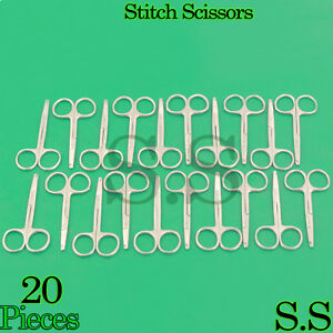 20 Spencer Stitch Suture Scissors 3 5 Surgical Veterinary