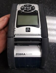 Zebra Qln220 Direct Thermal Portable Wireless Bluetooth Label Barcode Printer