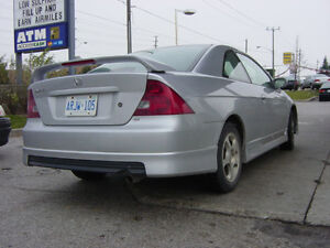 01 02 03 04 05 Honda Civic Oe Aero Style Rear Lip Kit Coupe Hfp Performance