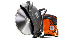 New Husqvarna K760 Cut Off Saw W Flx 14 Diamond Blade For Cured Concrete