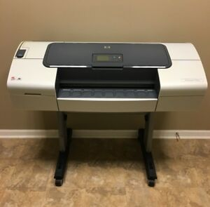 Hp Designjet T1100 24 Wide Large Format Inkjet Printer Plotter Refurbished