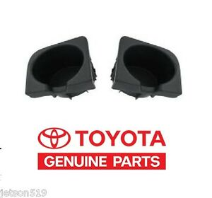 Genuine Toyota Tacoma Front Console Cup Holder Inserts Oem Oe