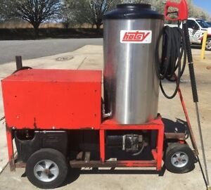 Used Hotsy 980ss Hot Water 1ph Diesel 4gpm 2000psi Pressure Washer