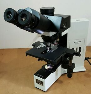 Olympus Microscope Bx40 With Superwide And Apo 2x