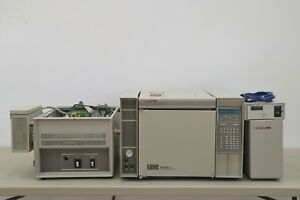 Hp 5890 Series Ii Gas Chromatograph W Hp 5971 Mass Selective Detector 14432