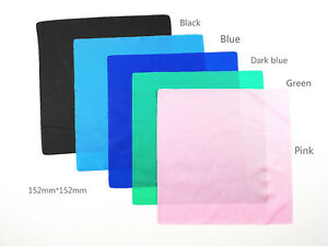 Dental Latex Dam Unscented Natural Rubber Dam 152mm 152mm 5 Colors