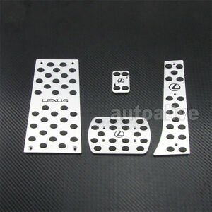 At Foot Rest Aluminium Pedals For 06 09 Gs300 Gs350 Gs430 Gs460 Lhd