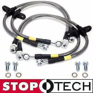 Stoptech Stainless Steel Braided Front Rear Brake Lines Toyota 4runner 03 18