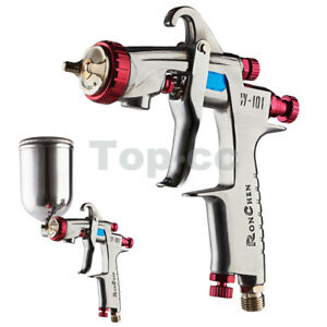 W 101 Gravity Feed Hvlp Spray Gun 1 0mm E1 Nozzle Cup Replace Anest Iwata W 101