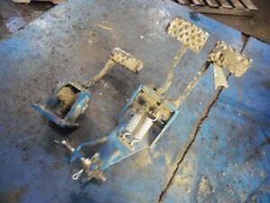 1986 Ford Tw 35 Series 2 Farm Tractor Pedals