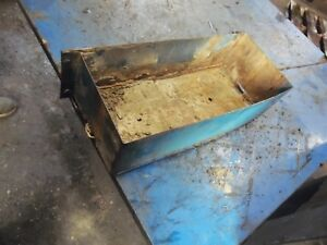 1986 Ford Tw 35 Series 2 Farm Tractor Battery Tray Assembly
