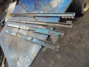 1986 Ford Tw 35 Series 2 Farm Tractor Hood Rails
