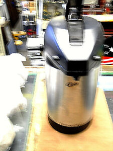 Wilbur Curtis 3 0 Liter Thermopro Qins Svap 2500f n Coffee Airpot Thermal Server