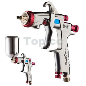 W 101 Gravity Feed Hvlp Spray Gun 1 8mm N1 Nozzle Cup Replace Anest Iwata W 101