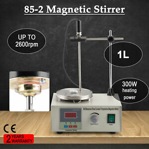Magnetic Stirrer Mixer Hot Plate Digital Display 300w Heating Plate