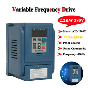 Single 3 phase Motor Governor Variable Frequency Drive Inverter Cnc 220 380v Inm