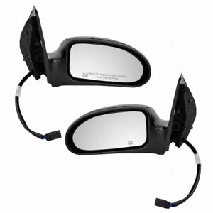 Power Door Mirror 2003 2007 Ford Focus Heated Wo Svt Driver Passenger Set Of 2