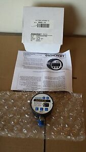 New Ashcroft Digital Pressure Gauge 25d1005 0 1000 Psi