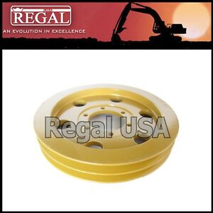 2p2407 Pulley For Caterpillar 966c 977l D5 D6c 7n9149 3833684 383 3684