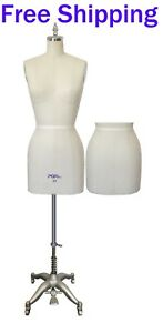 Professional Ladies Fitting Dress Form Mannequin With Full Set Stand Size 10