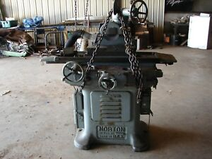 Norton Hydraulic Surface Grinder With 6 X 18 Magnetic Chuck Model 687 a