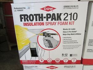 Dow Froth Pak 210 Class A e84 Spray Foam Kit 11098207