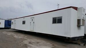 Used 2007 1260 Mobile Office Trailer W 1 2 Bath S 36118 Kc