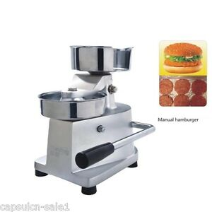 100mm Manual Hamburger Press Patty Meat Meatball Shaping Machine Home Make